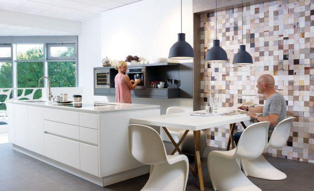 cuisine contemporaine cuisine et confidences. Black Bedroom Furniture Sets. Home Design Ideas